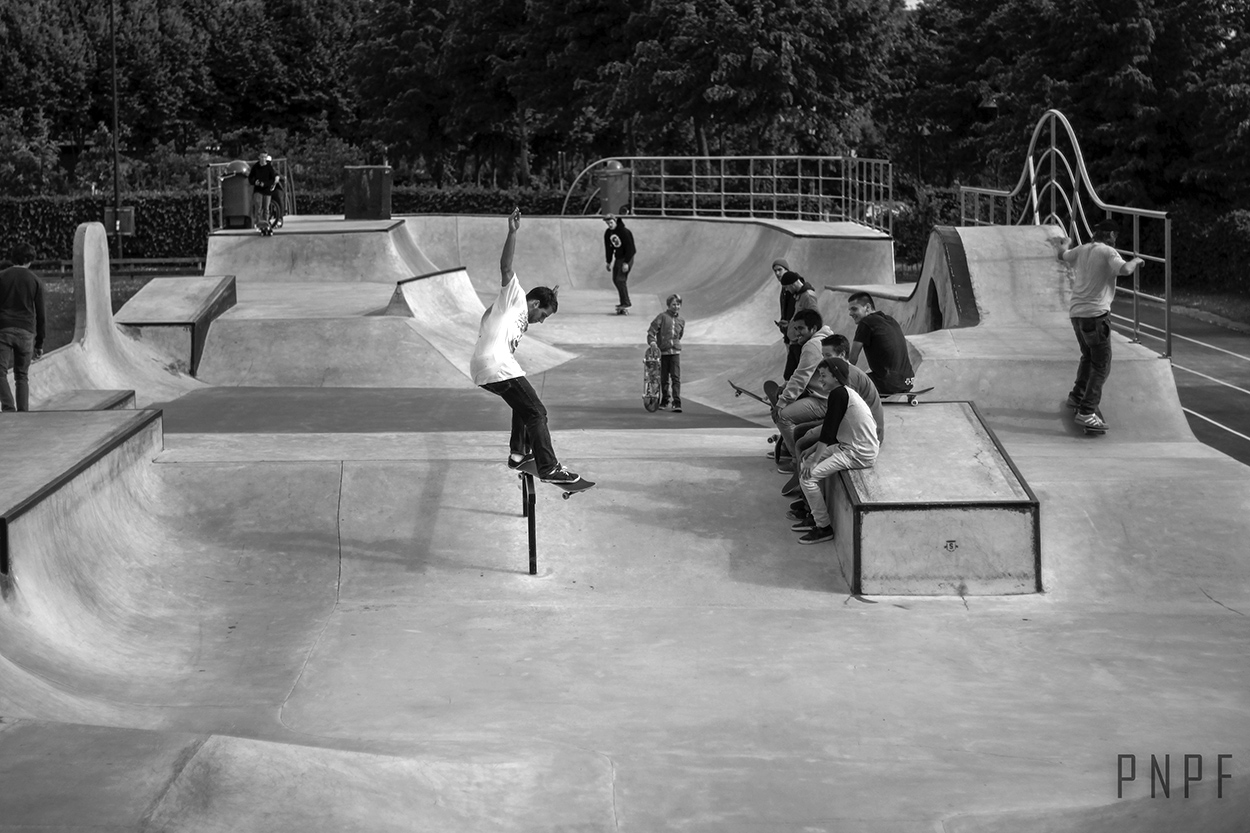 Fs Feeble by Andy Debontridder at Skatepark De Bres Photo by PNPF