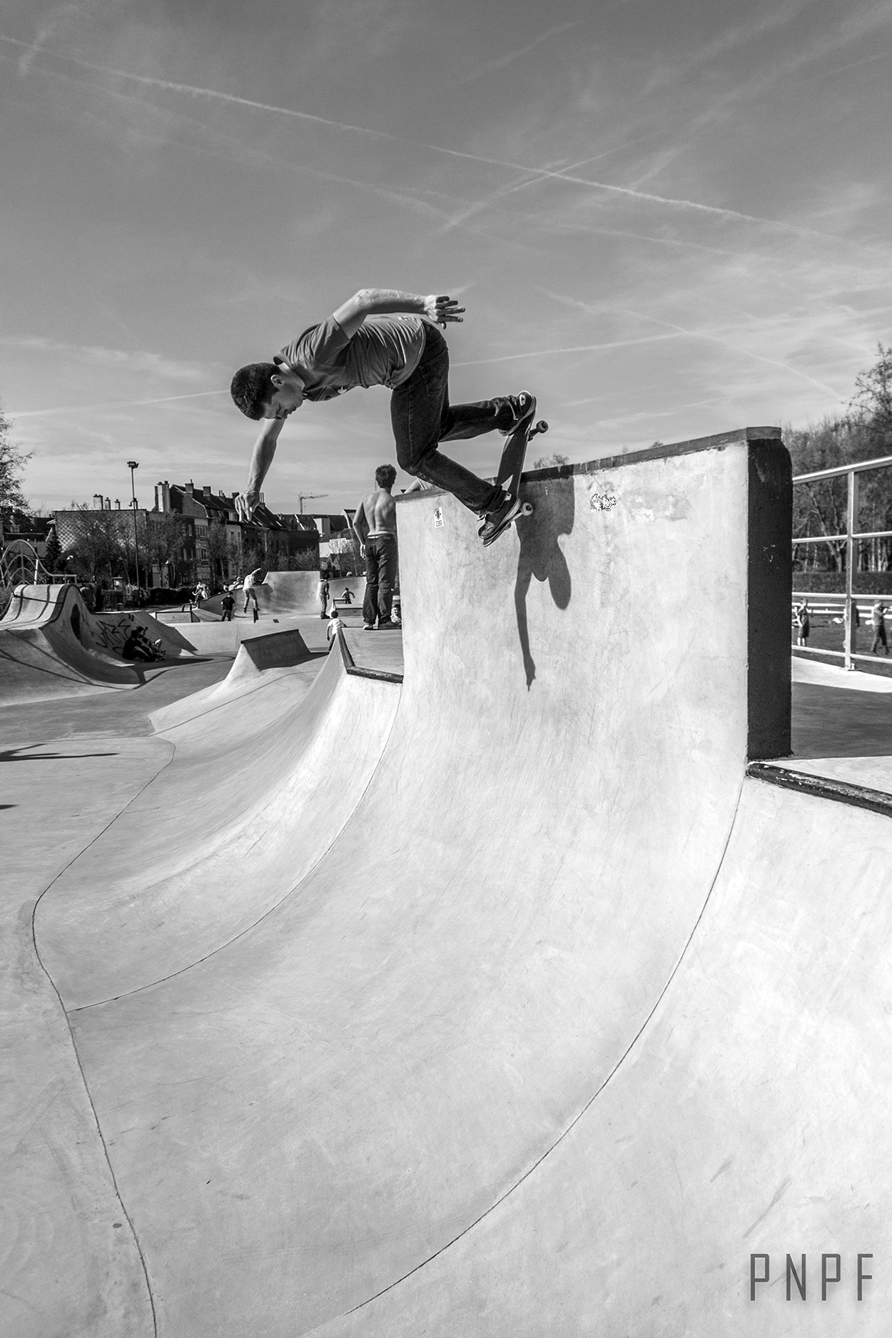 Rock 'n Roll by Unknown skater at Skatepark De Bres. Photo: PNPF