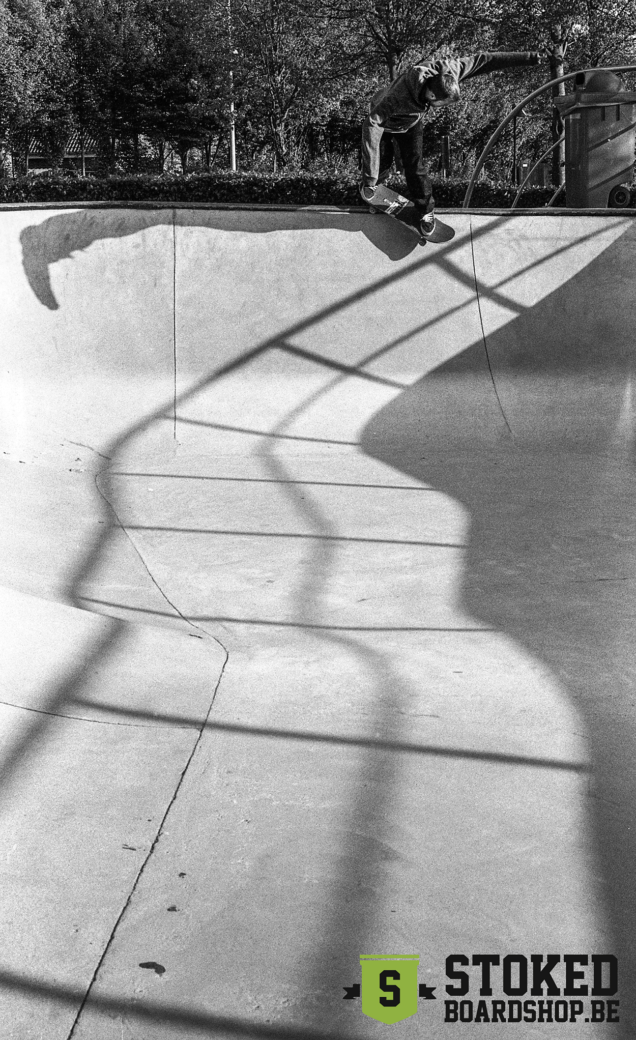 Bs Smith by Unknown skater at Skatepark De Bres Photo by Stoked Boardshop