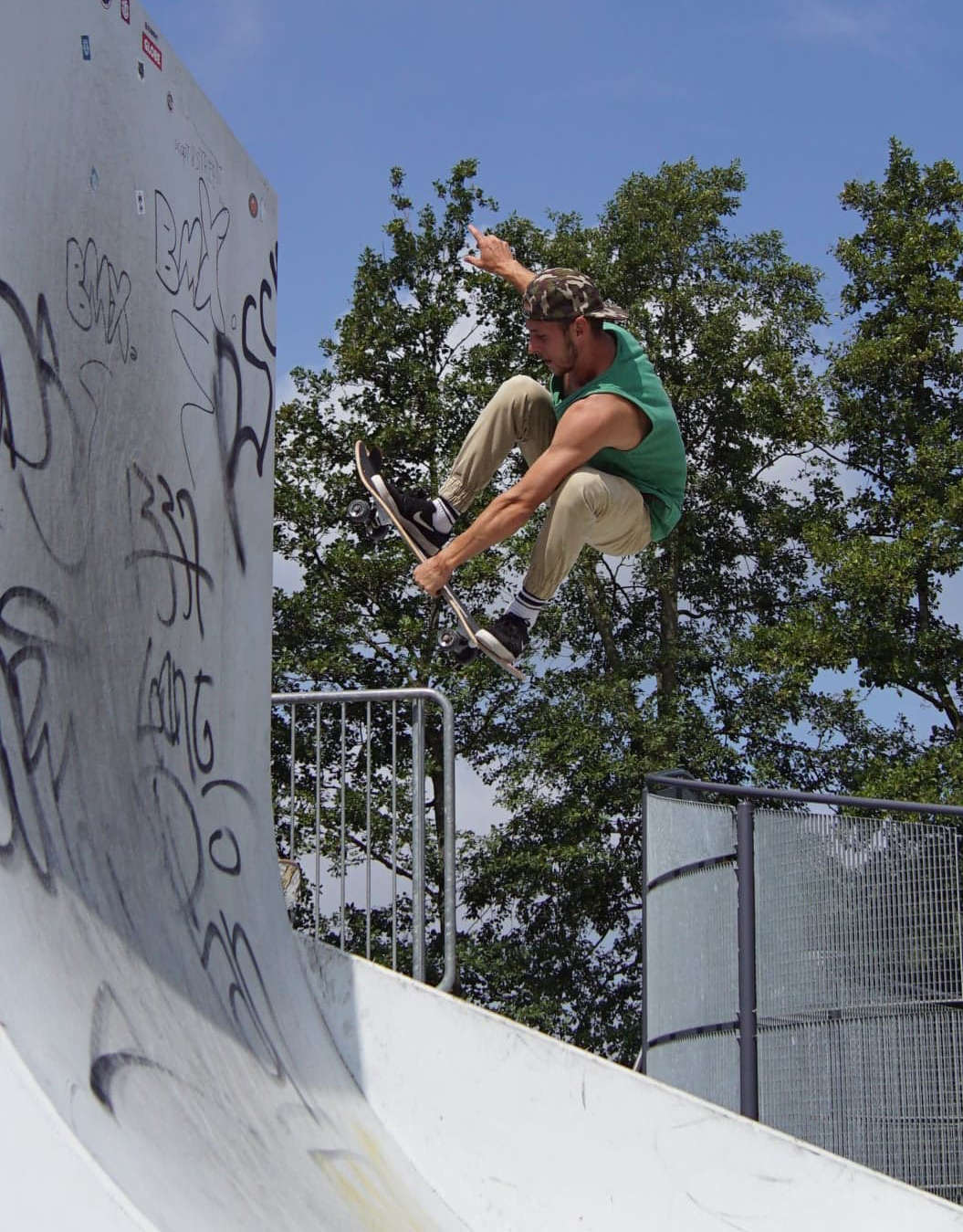 Indy by Eres Otte at Skatepark Lot. Photo: Stoked