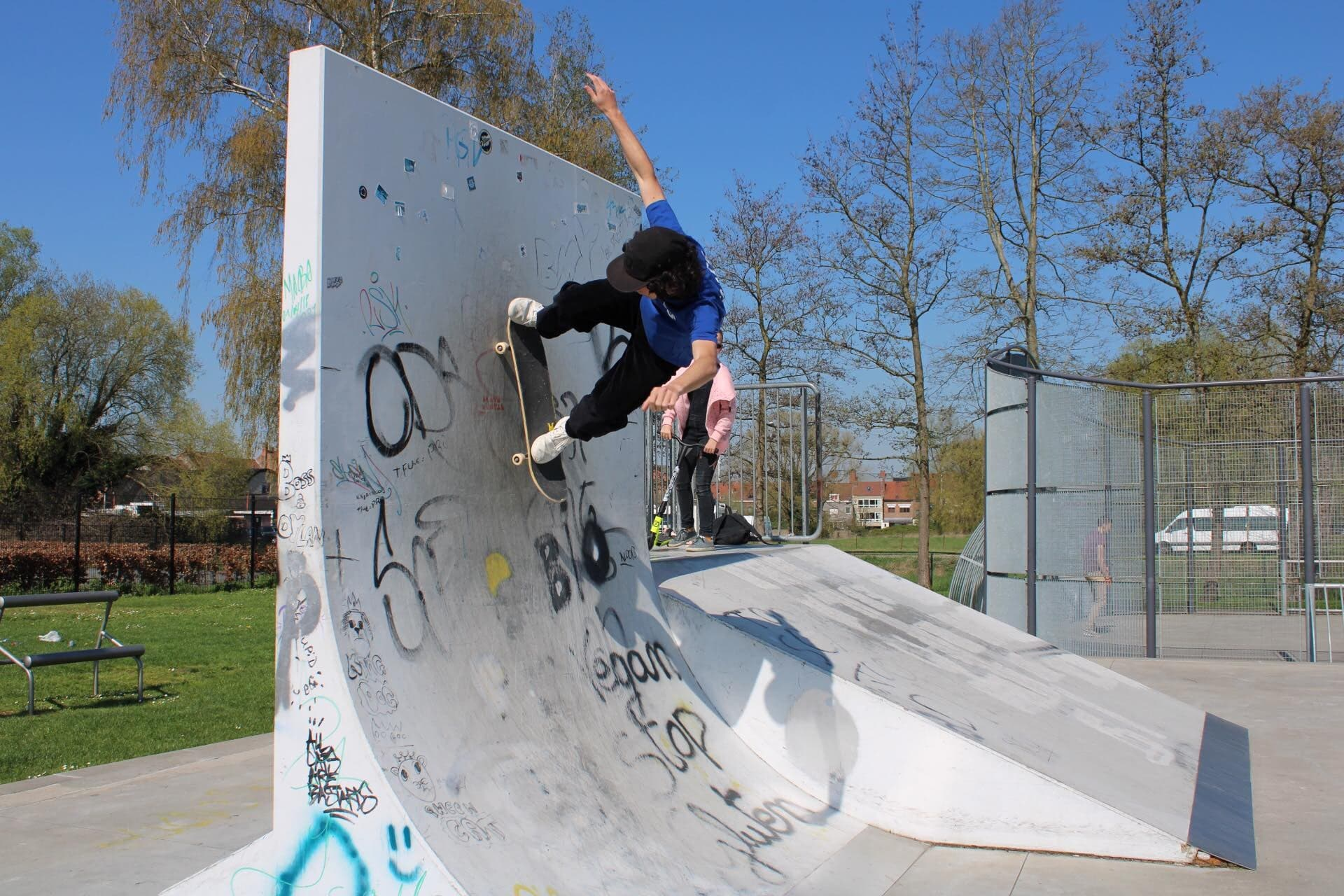 Wallride by Tommy Crabbe at Skatepark Lot. Photo: Stoked